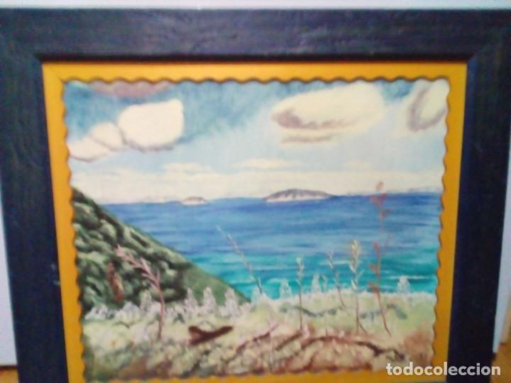 BONITO CUADRO PINTURA PAISAJISTA OLEO SOBRE LIENZO (Arte - Pintura - Pintura al Óleo Antigua sin fecha definida)