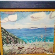 Arte: BONITO CUADRO PINTURA PAISAJISTA OLEO SOBRE LIENZO. Lote 190929177