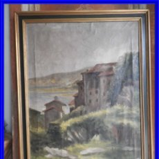 Arte: CUADRO OLEO SOBRE LIENZO DE UN PAISAJE DE MAR MUY AGRADABLE. Lote 191006548