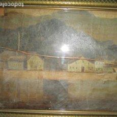 Arte: ANTIGUA PINTURA SIGLO XVIII - XIX DETERIORADO OLEO EN LIENZO. Lote 191035282
