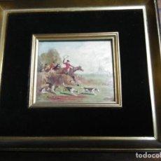 Arte: ANTIGUO ÓLEO ENMARCADO SOBRE TABLA FIRMADO E. BERTOLINO. Lote 191072585