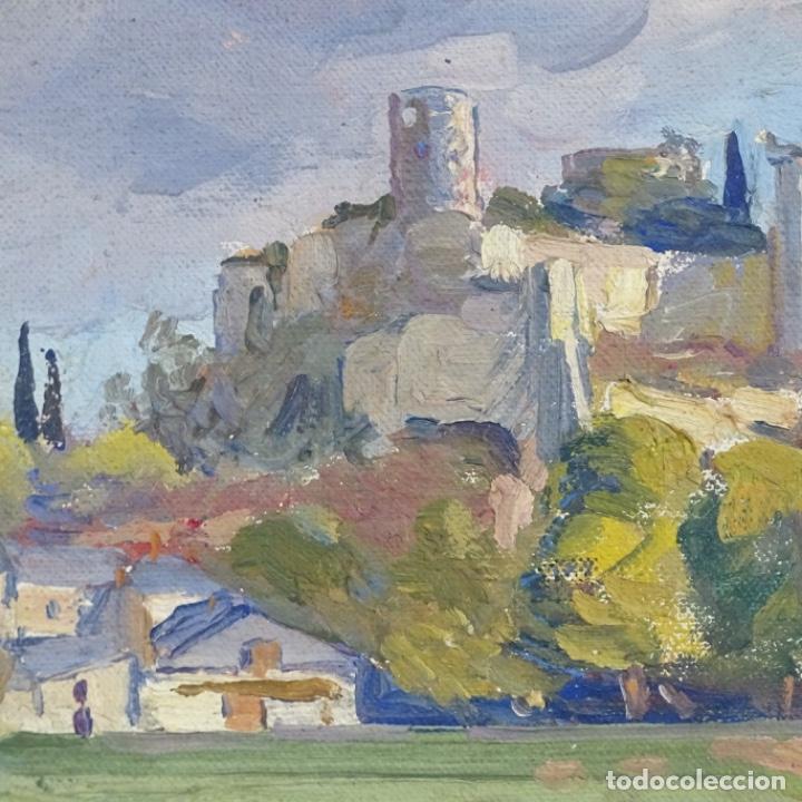 Arte: Óleo sobre tela.escuela de Mallorca.buen trazo. - Foto 4 - 191119657