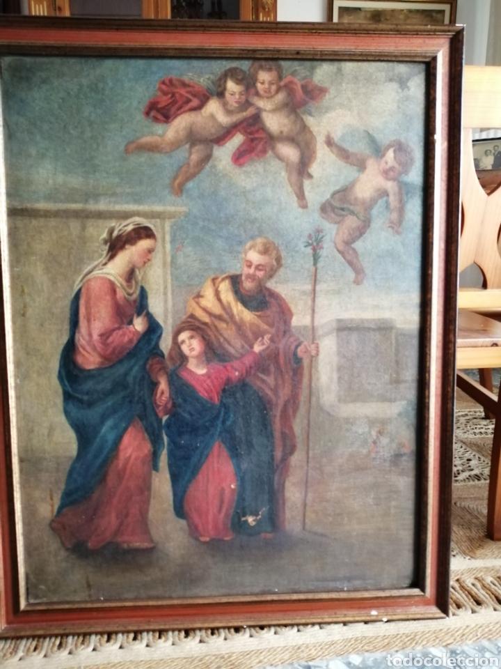 Arte: Óleo sobre lienzo napolitano siglo XVIII. - Foto 2 - 191251962