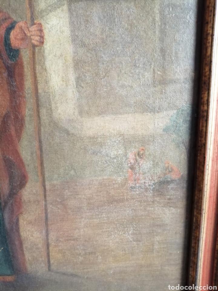 Arte: Óleo sobre lienzo napolitano siglo XVIII. - Foto 7 - 191251962