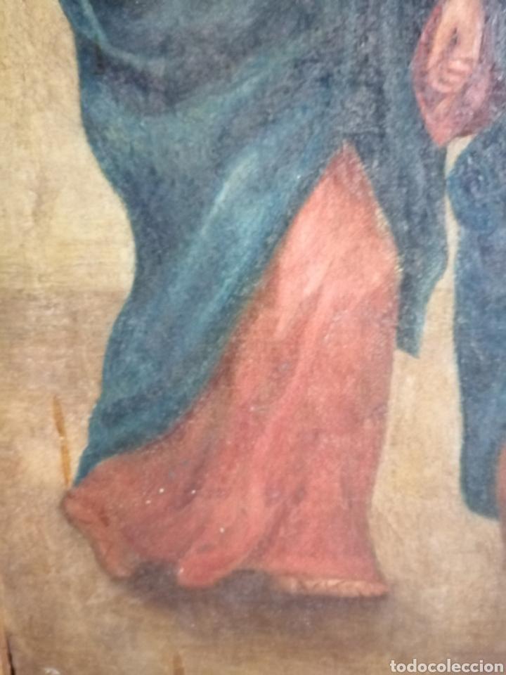 Arte: Óleo sobre lienzo napolitano siglo XVIII. - Foto 10 - 191251962