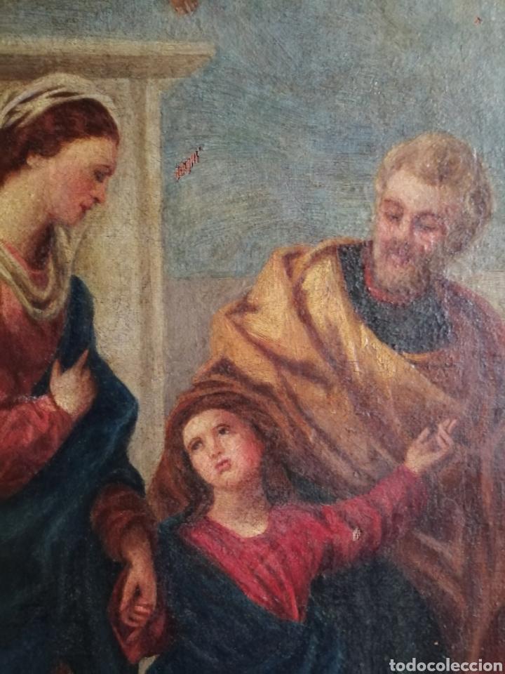 Arte: Óleo sobre lienzo napolitano siglo XVIII. - Foto 11 - 191251962