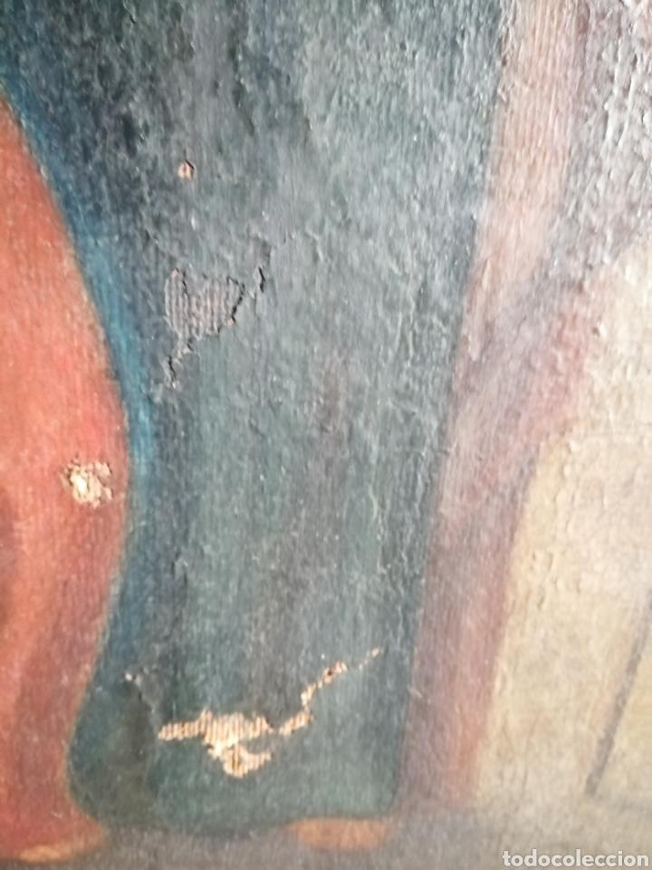 Arte: Óleo sobre lienzo napolitano siglo XVIII. - Foto 12 - 191251962