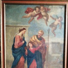 Arte: ÓLEO SOBRE LIENZO NAPOLITANO SIGLO XVIII.. Lote 191251962