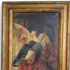 Arte: ÓLEO SOBRE LIENZO DE RAMÓN MARTÍ ALSINA ( 1826-94). Lote 191271148