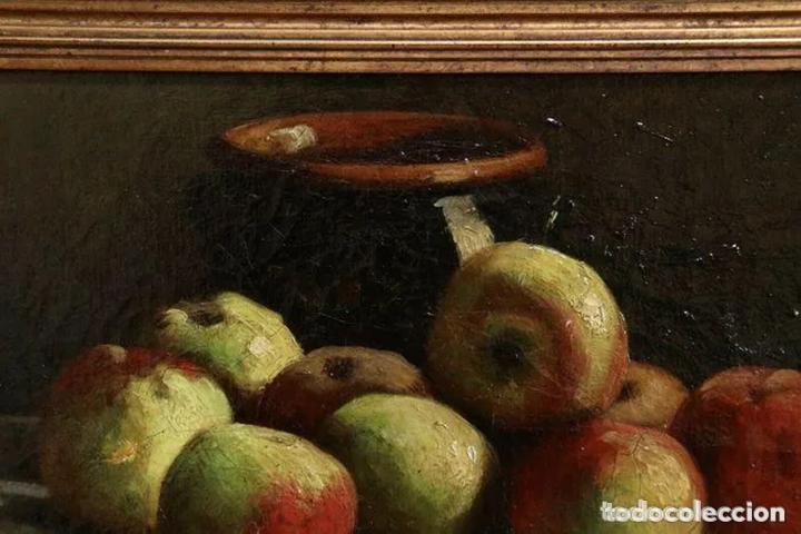 Arte: Alfred Arthur Brunel de Neuville (1852-1941) Manzanas - Foto 4 - 191414267