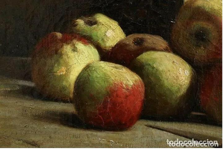 Arte: Alfred Arthur Brunel de Neuville (1852-1941) Manzanas - Foto 6 - 191414267