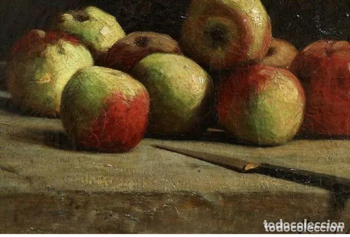 Arte: Alfred Arthur Brunel de Neuville (1852-1941) Manzanas - Foto 8 - 191414267