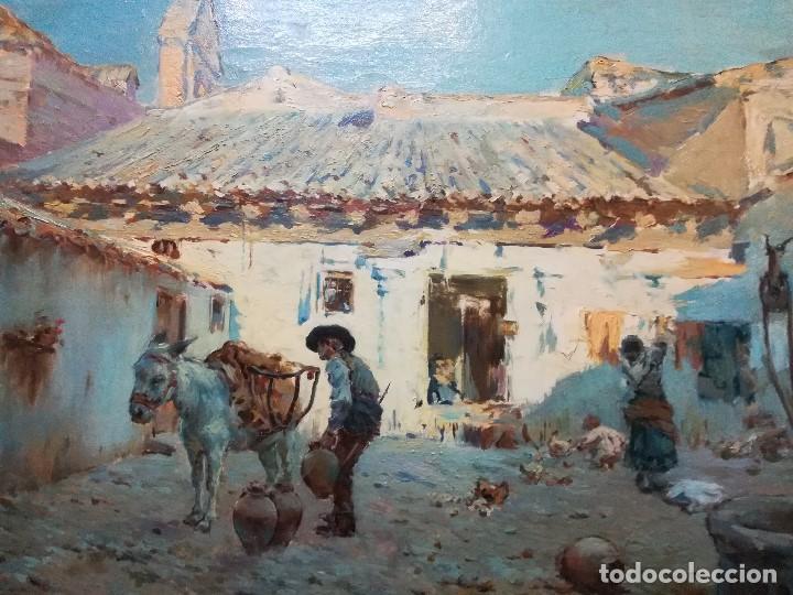 Arte: Cuadro pintado al oleo sobre lienzo por GIGNOUX , LUDOVICO - Foto 2 - 191512523