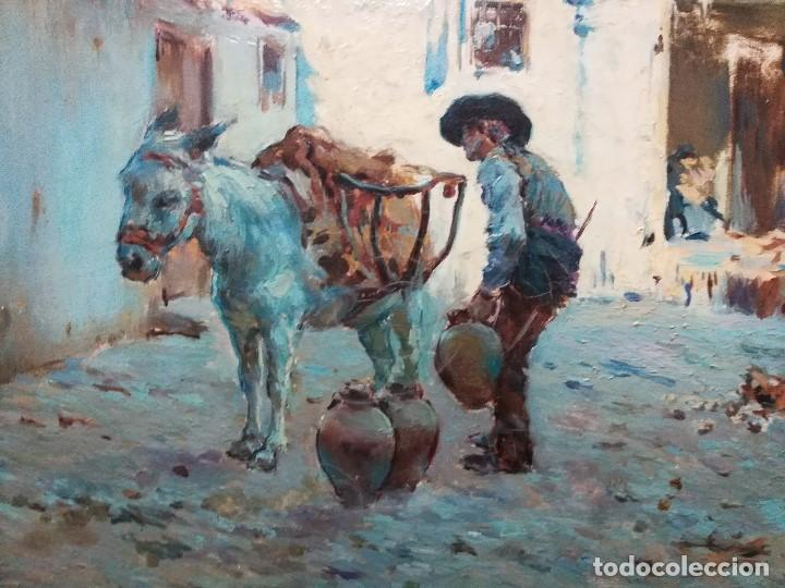 Arte: Cuadro pintado al oleo sobre lienzo por GIGNOUX , LUDOVICO - Foto 3 - 191512523