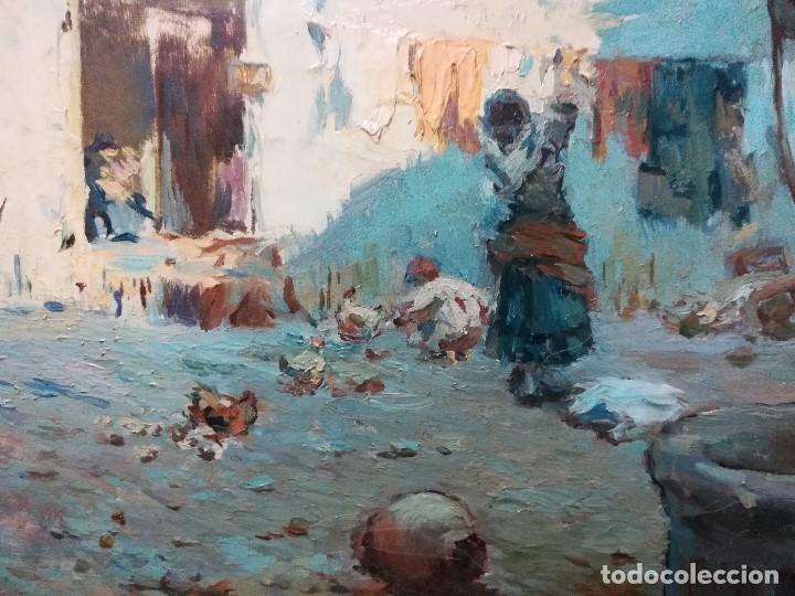 Arte: Cuadro pintado al oleo sobre lienzo por GIGNOUX , LUDOVICO - Foto 4 - 191512523