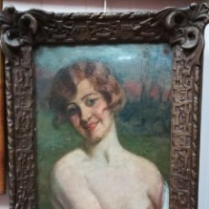 Arte: LA MODELO DEL PINTOR.. Lote 191516471