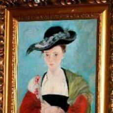 Arte: RETRATO DE SUZANNE FOURMENT ÓLEO (COPIA). Lote 191527565