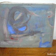 Arte: OLEO SOBRE TELA - ANONIMO - ABSTRACTO. Lote 191581741