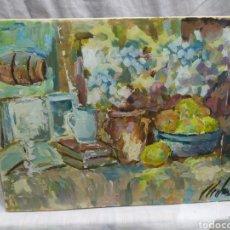 Arte: BODEGON ANTIGUO (ORIGINAL. Lote 191583140