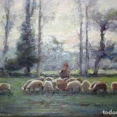 Arte: OLIVET LEGARES. OLEO FIRMADO, 1934. Lote 135588198