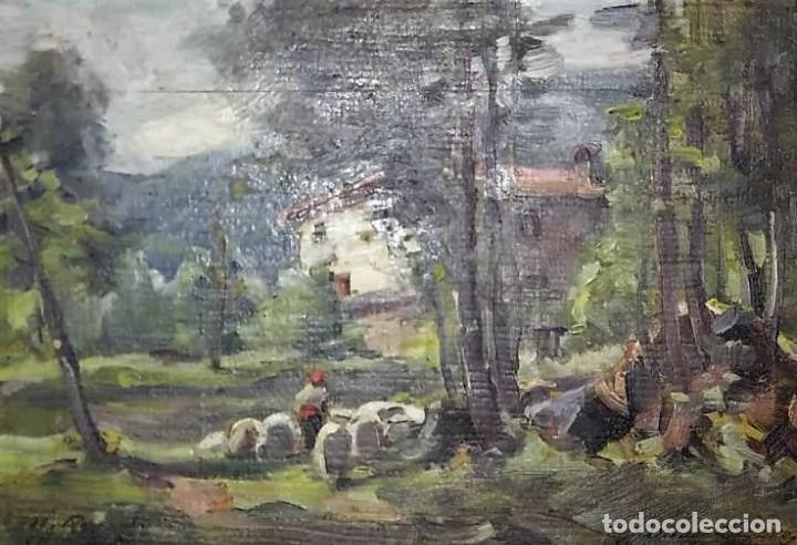 OLIVET LEGARES FIRMADO 1934 (Arte - Pintura - Pintura al Óleo Contemporánea )