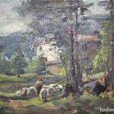 Arte: OLIVET LEGARES FIRMADO 1934. Lote 135588850