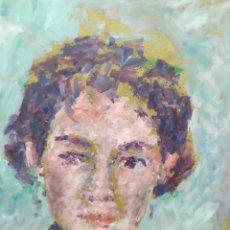 Arte: RETRATO MUJER (ORIGINAL). Lote 191596997
