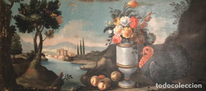 PAREJADE BODEGONES SIGLO XVII (Arte - Pintura - Pintura al Óleo Antigua siglo XVII)