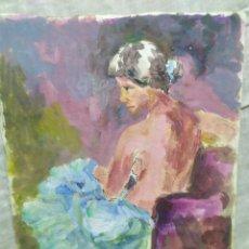 Arte: CHICA BAILARINA (ORIGINAL). Lote 191622456