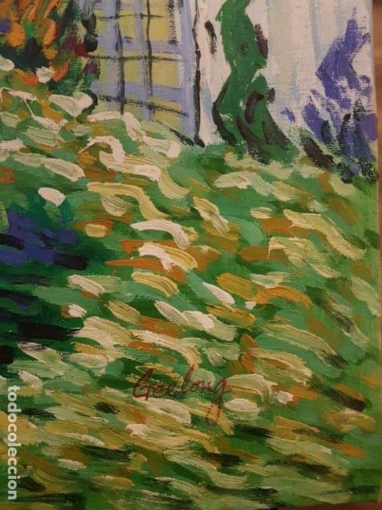 Oleo Jardin De Daubigny De Van Gogh Pintado P Buy Contemporary Oil Painting At Todocoleccion 191661648