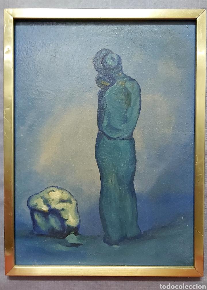 PRECIOSO ÓLEO VANGUARDISTA (Arte - Pintura - Pintura al Óleo Contemporánea )