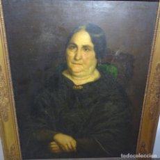 Arte: GRAN ÓLEO DEL S.XIX ANÓNIMO.GRAN CALIDAD.ESCUELA MARTI ALSINA.GERTRUDIS MESTRE I VIDAL DE MILA.. Lote 191742738