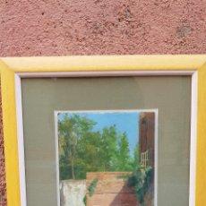 Arte: TABLA SXIX FIRMADA FRANCISCO LLANO (GRANADA). Lote 191785652