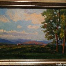 Arte: PAISAJE RURAL POR ENRIC GALWEY (1861-1931). Lote 191793187