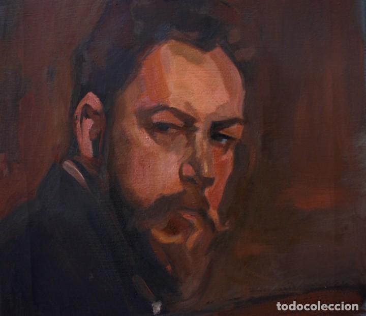 Arte: Copia de retrato de Joaquín Sorolla - Carlos Asensio - Foto 2 - 191788746