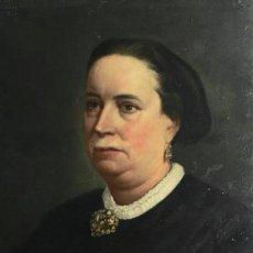 Arte: ESCUELA CATALANA S. XIX (MARTÍ ALSINA?). ÓLEO/LIENZO 55 X 41 CM. REENTELADO.. Lote 191829690