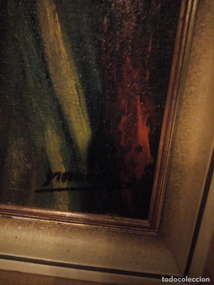 Arte: Precioso desnudo femenino pintado al oleo sobre lienzo.Firmado Marcos - Foto 6 - 191829937