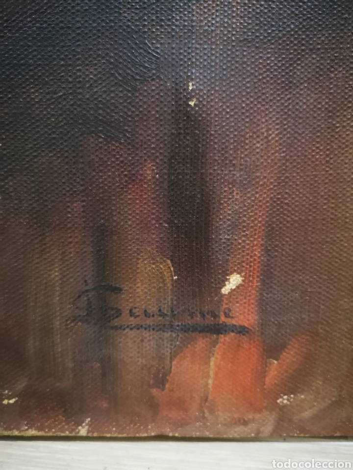 Arte: ANTIGUO RETRATO DE CABALLERO, FINALES DE S.XIX ppos XX, firma ilegible. 93x70cm - Foto 3 - 191915565
