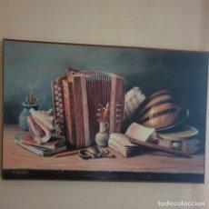 Arte: OLEO DE MARCELO MASCETRA. Lote 191995205