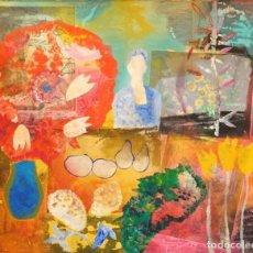 Arte: DIEGO LÓPEZ GRANADOS - ÚBEDA(JAÉN) 1.959 COLLAGE TÉCNICA MIXTA. Lote 192038830
