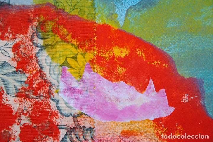 Arte: Diego López Granados - Úbeda(Jaén) 1.959 Collage Técnica Mixta - Foto 4 - 192038830