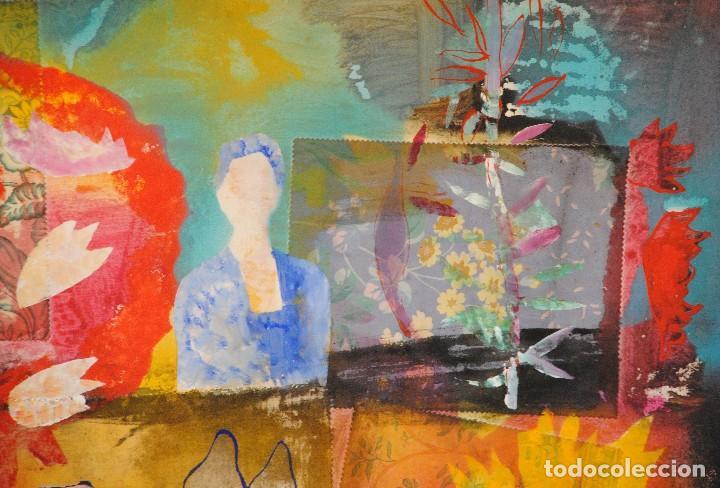 Arte: Diego López Granados - Úbeda(Jaén) 1.959 Collage Técnica Mixta - Foto 7 - 192038830
