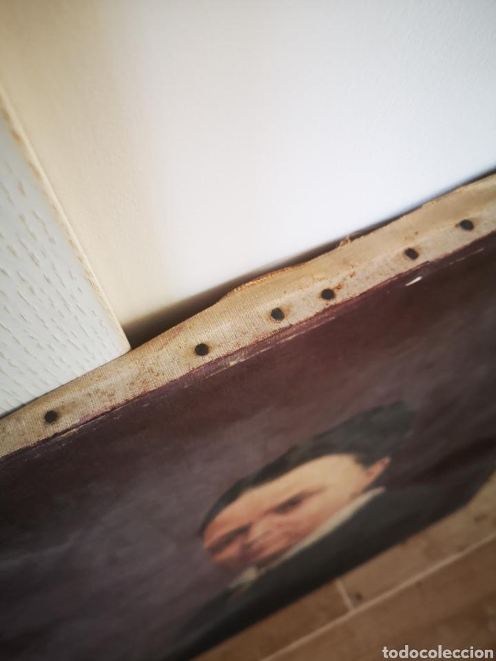 Arte: Honorio ROMERO OROZCO (1867-1920) OLEO SOBRE LIENZO, RETRATO SEÑORA 56X71CM - Foto 5 - 192066542