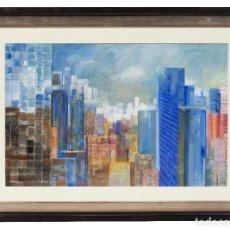 Arte: WILLIAM MORGAN CORAL GABLES USA 1953 NEW YORK TÉCNICA MIXTA. Lote 192083792