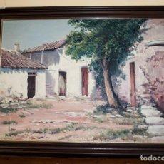 Arte: IMPRESIONANTE OLEO SOBRE TELA, FDO. L. MARIN. Lote 192209171