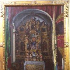 Arte: OLEO SOBRE LIENZO JOSEP MARIA LLOPIS DE CASADES (SITGES 1886 - 1915). Lote 192252501
