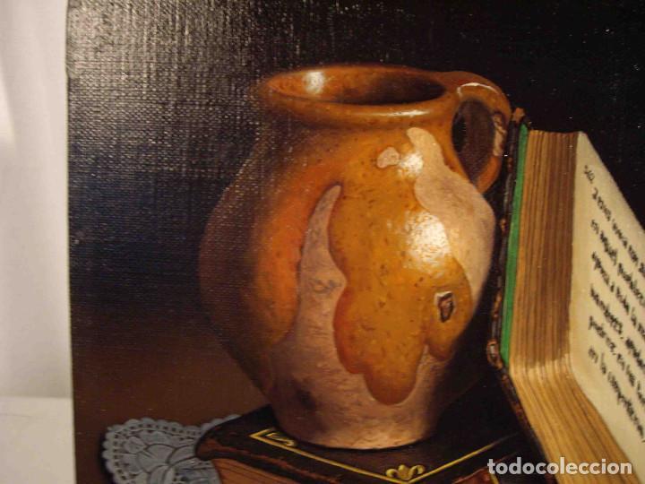 Arte: OLEO BODEGON PAÑO PUNTILLA PRADAL - Foto 2 - 192253966