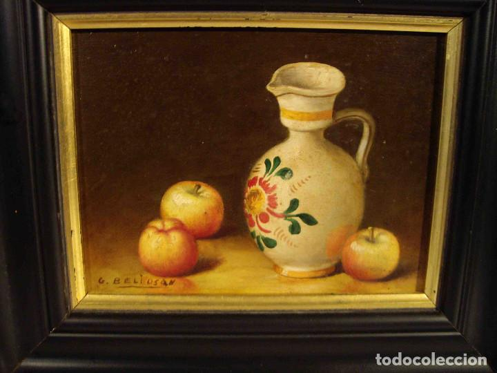 Arte: CUADRO BODEGON EN TABLA - Foto 2 - 192254408