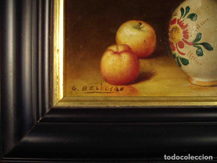 Arte: CUADRO BODEGON EN TABLA - Foto 3 - 192254408
