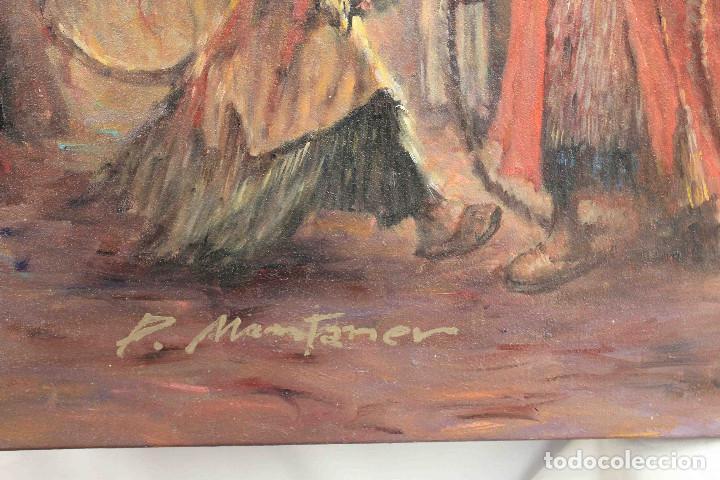 Arte: OLEO LIENZO CARAVANA PERSA - Foto 8 - 192254605
